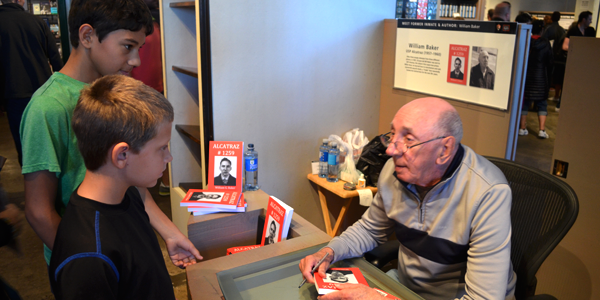 Meeting William Baker, a former Alcatraz inmate turned author